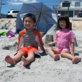 Ethan and Sarah at York Beach